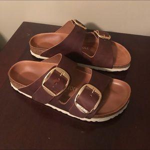 165f90248281 Birkenstock Shoes - Birkenstock Arizona Big Buckle Slide Sandal